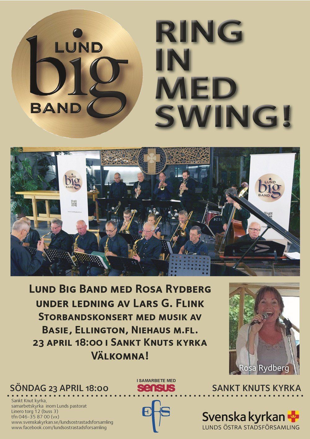 Lund Big Band - Vårkonsert i Lund