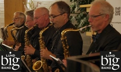 Lund Big Band - saxsektionen